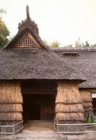 farmhouse of grass, near osaka, japan p:forrest